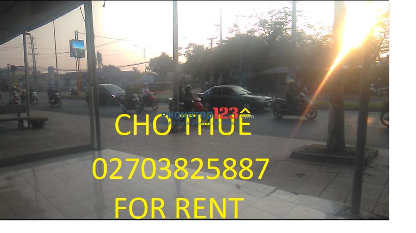 CHO THUÊ MƯỚN Nhà Mặt tiền trung tâm thành phố,Ngã 4,Quốc lộ,kế TGDĐ,FPT shop,đối diện bến xe
