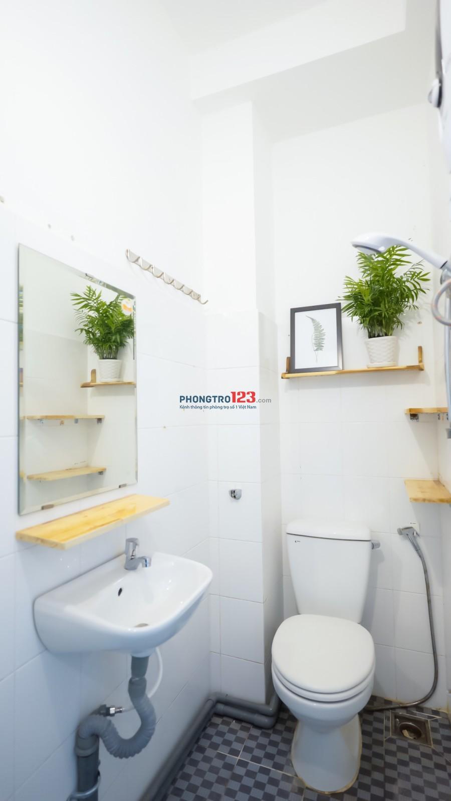 Cho thuê nguyên tầng 1 - 2 phòng đầy đủ nội thất