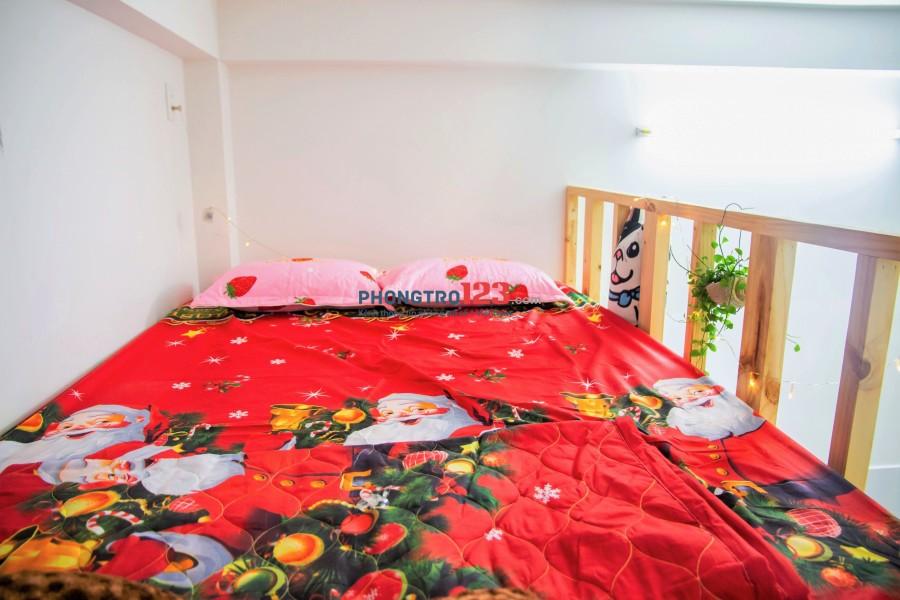 Cho thuê phòng trọ siêu rẻ đẹp, mới xây phường 15, Tân Bình có ban công