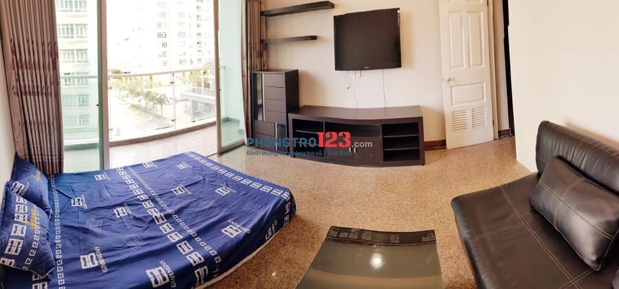 [VIDEO] Phòng trong khu căn hộ cao cấp, full nội thất, BAN CÔNG RẤT LỚN, giá chỉ 4.199 tr/tháng