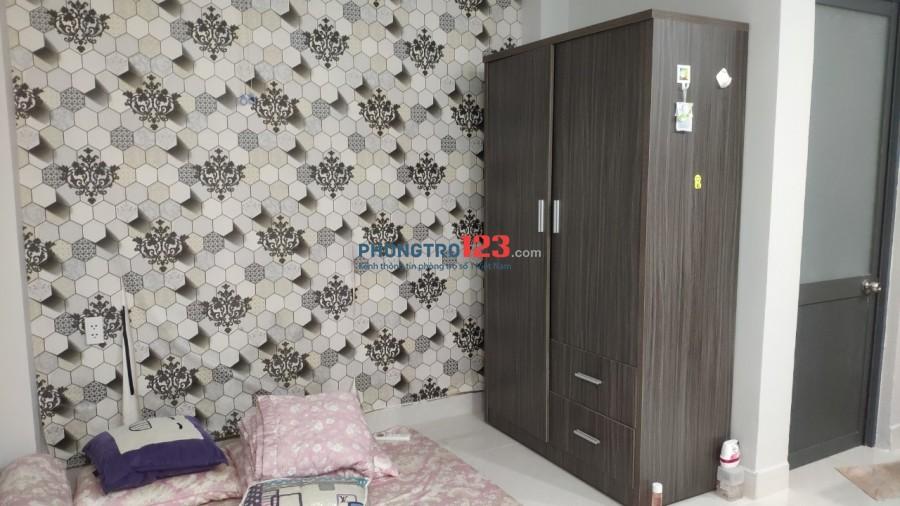 Phòng trọ Xóm Chiếu Q4 - 25m2 - Full nội thất