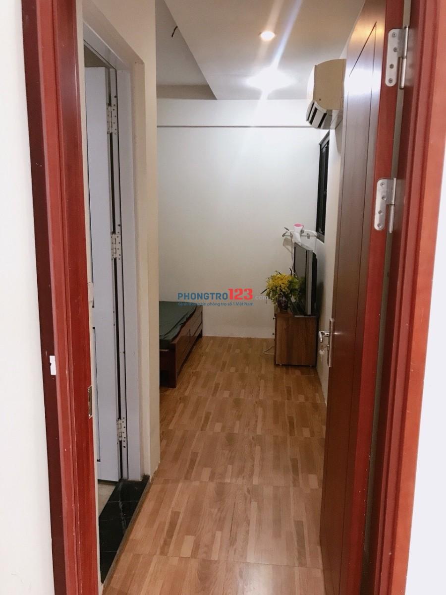 Cho thuê 1 phòng trong CC An Bình đủ đồ khép kín 4tr5