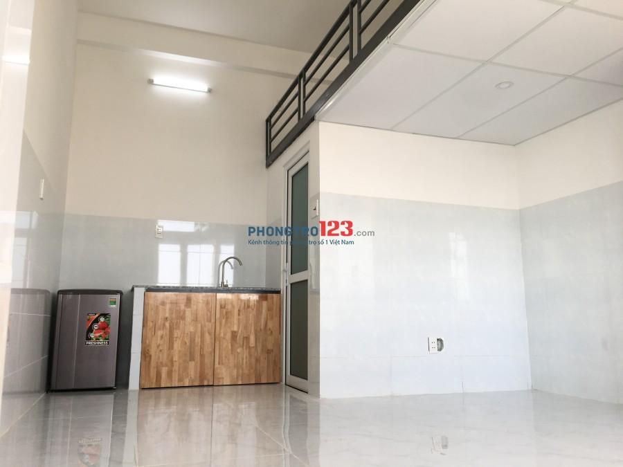 Căn hộ mới xây 30m2 full nội thất - đường D2 Bình Thạnh