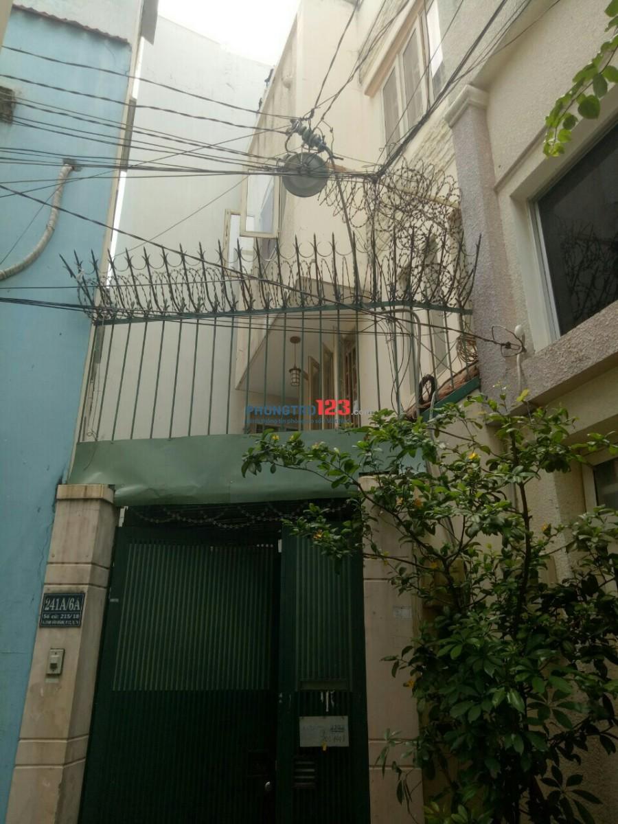 Phòng 30m2 CỬA SỔ, máy lạnh thoáng mát ngay Huỳnh Văn Bánh