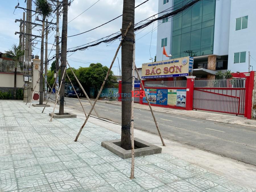 Phòng trọ giá rẻ mới xây ngay cầu Tham Lương, công viên phần mềm Quang Trung
