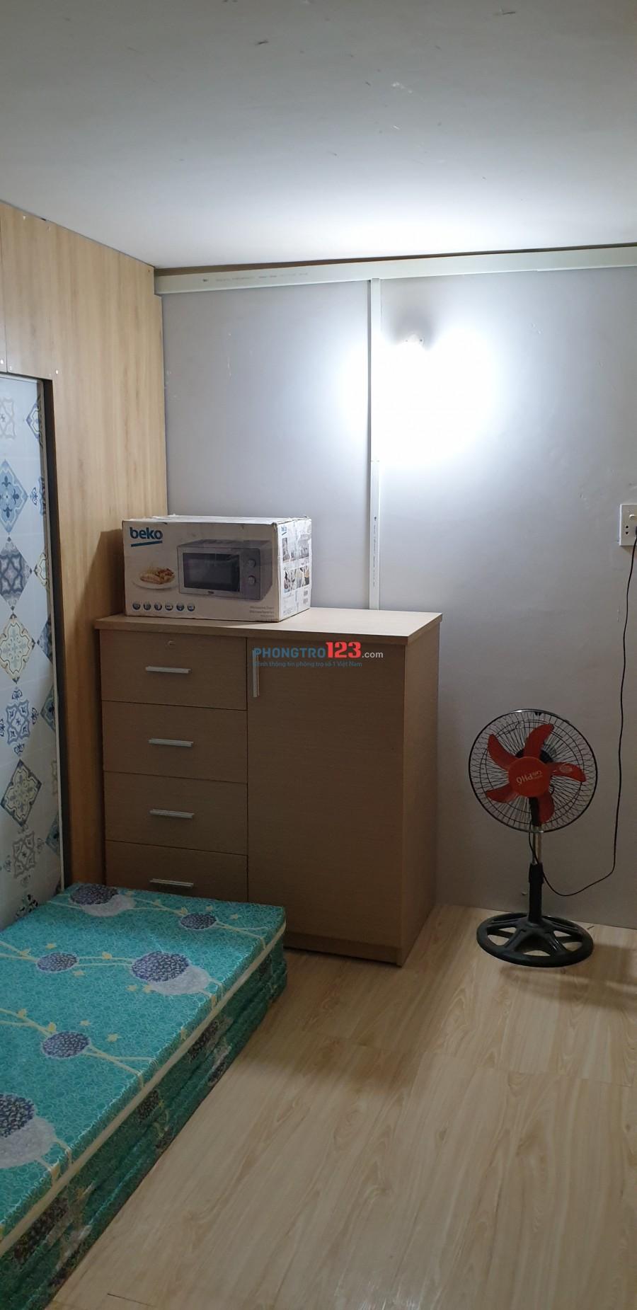 7 phòng riêng full nội thất giá 1Tr8 tại trung tâm F5, Bình Thạnh