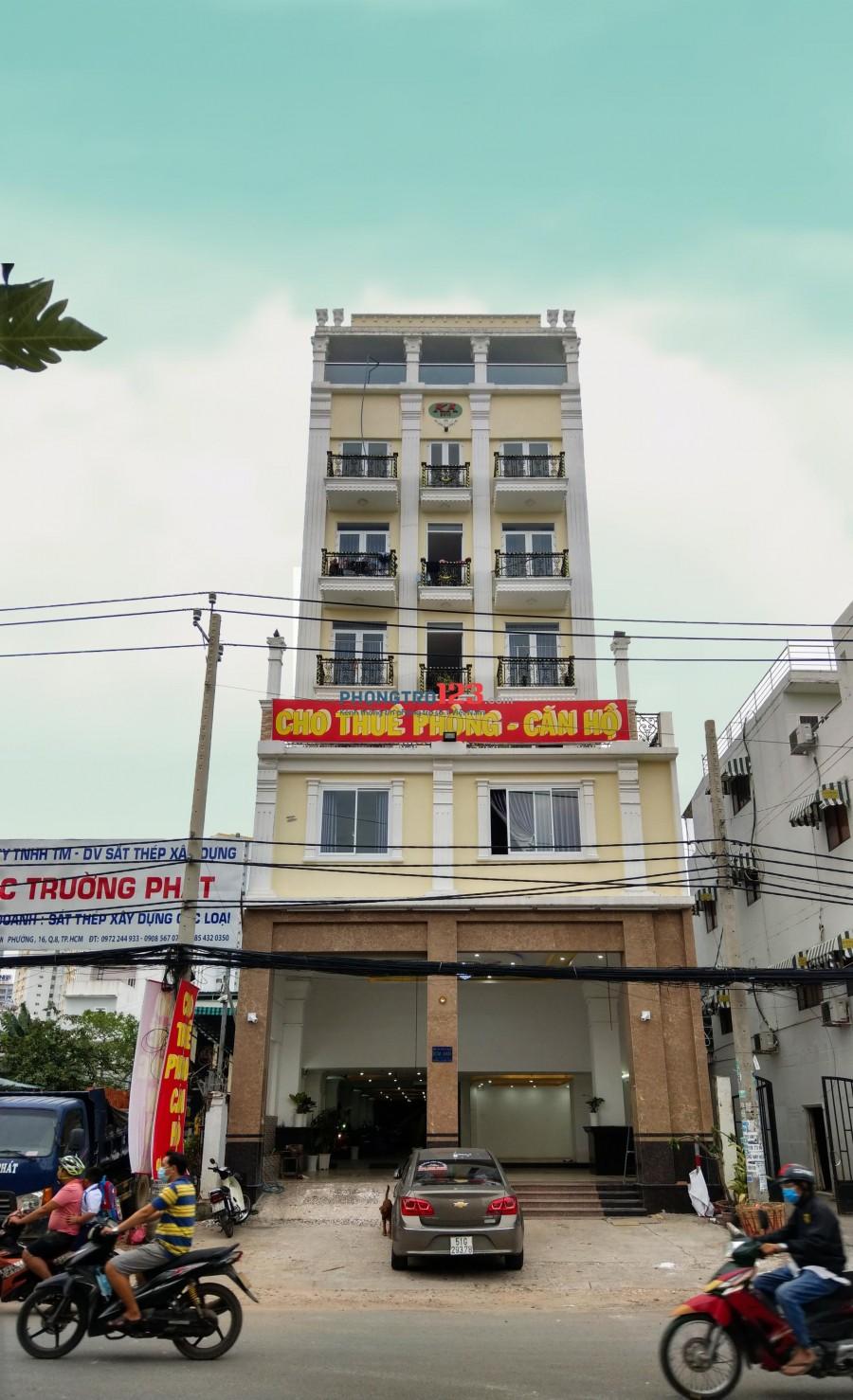 PHÒNG CHO THUÊ 144 đường Hoàng Ngân Phường 16 Quận 8 TP.HCM