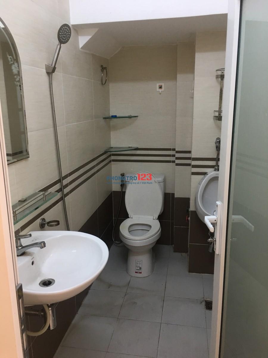Phòng đẹp, phòng lớn :gồm 2 phòng ngủ, không chung chủ, cho để xe free