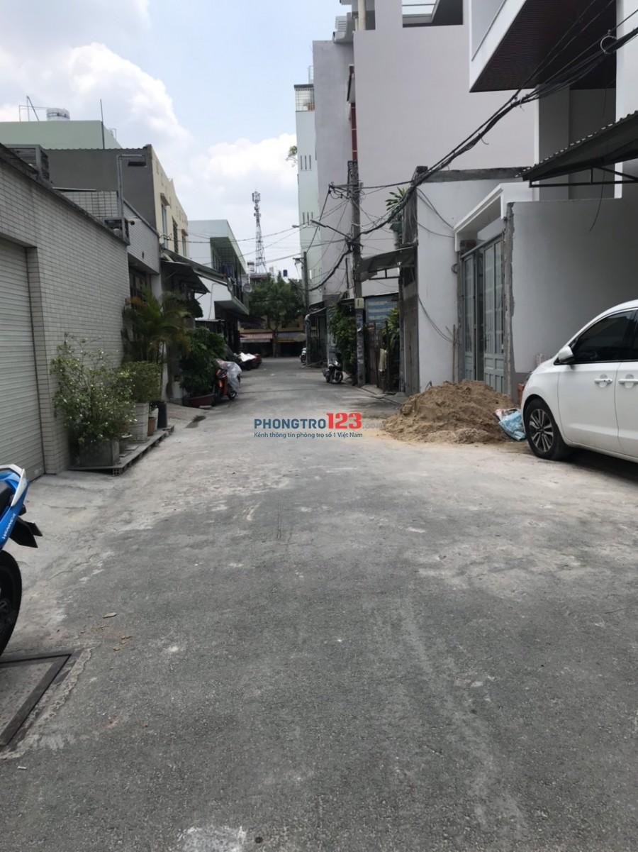 Cho thuê nhà nguyên căn 4x21 2 lầu có 4pn hẻm 6m tại Nguyễn Phú Chu, P.15, Q.Tân Bình