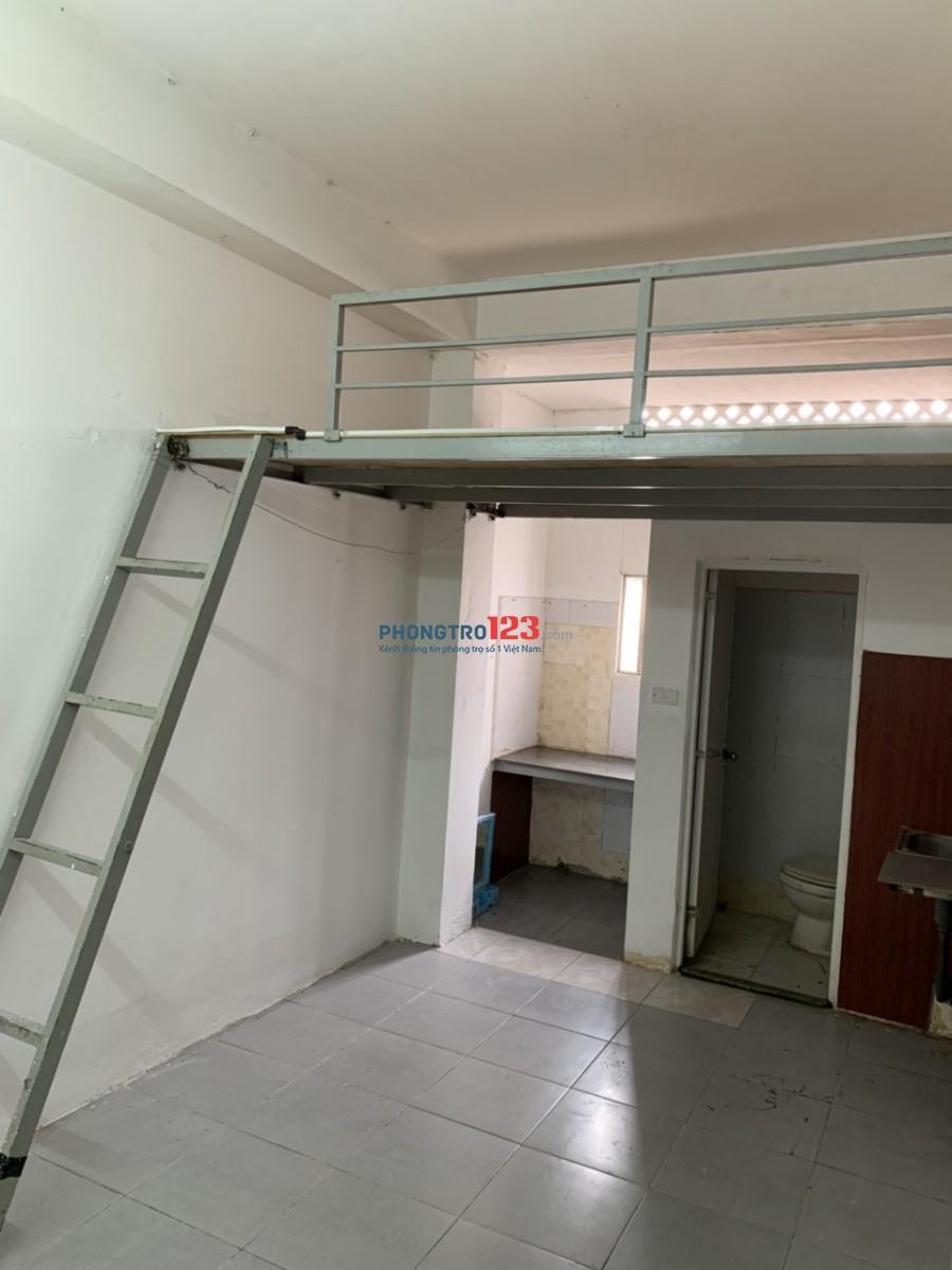 Phòng trọ có gác, thoáng mát quận Tân Bình