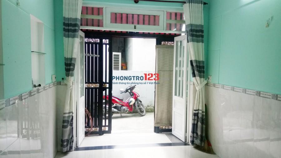 Cho thuê nhà Tân Thới Hiệp 20-gần Nguyễn Văn Quá