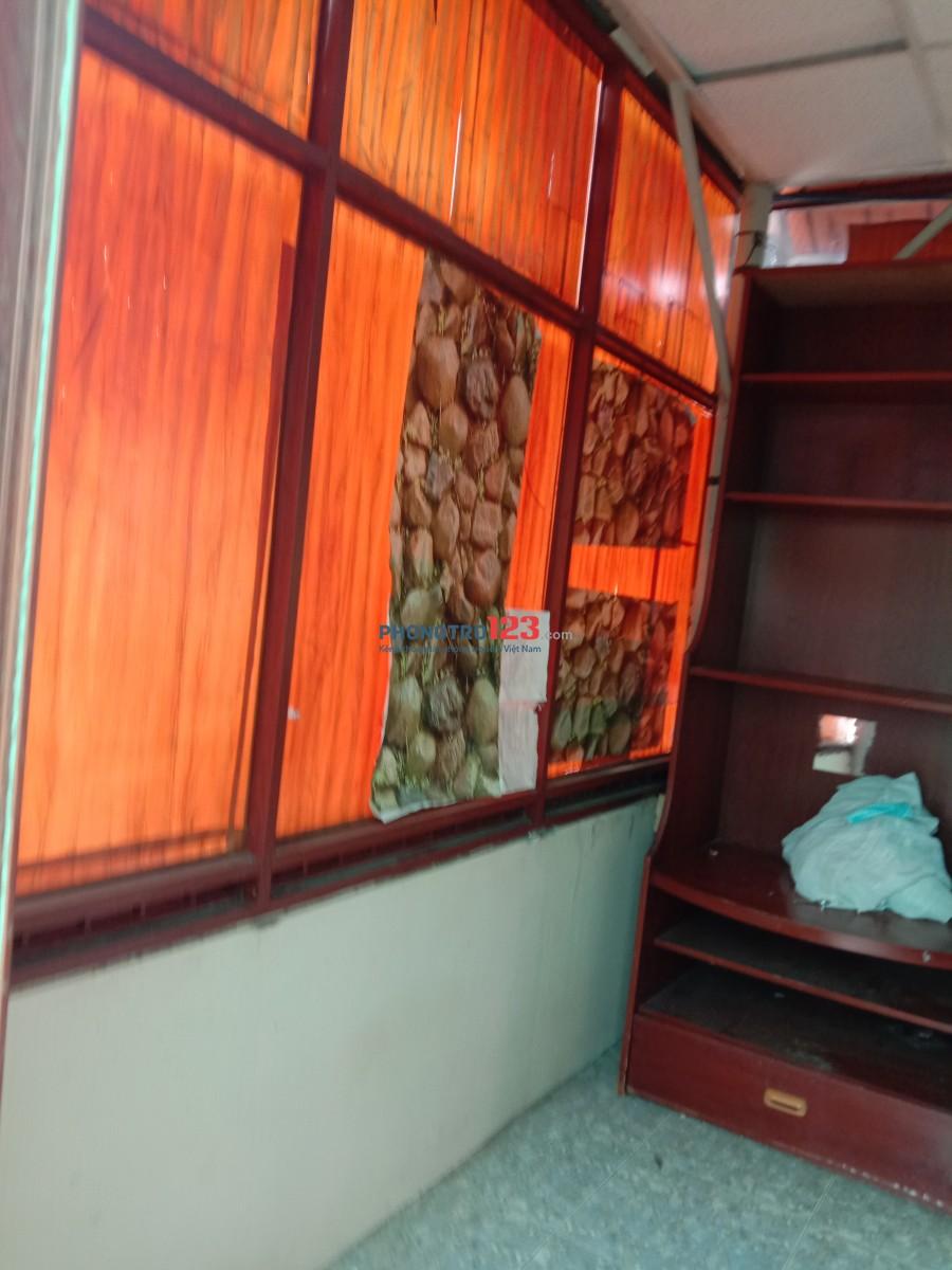 Nguyên lầu 4 đường Nguyễn đình chiểu gần thích quảng đức dt 25m, WC, bếp riêng biệt giá 2triee