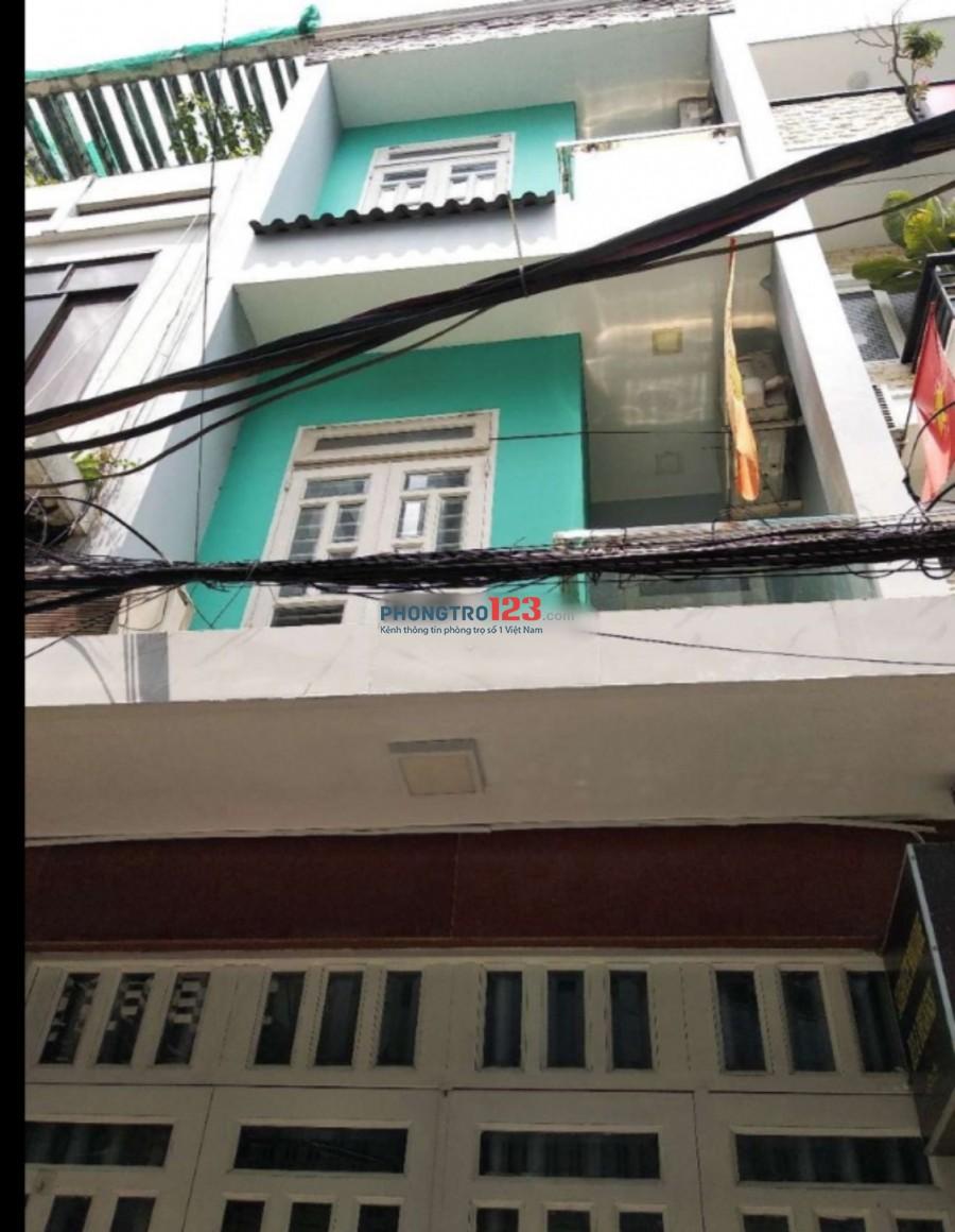 Cho thuê nhà nguyên căn, nhà 1 trệt 2 lầu 6pn 6wc tại đường Nguyễn Công Trứ, Q.1