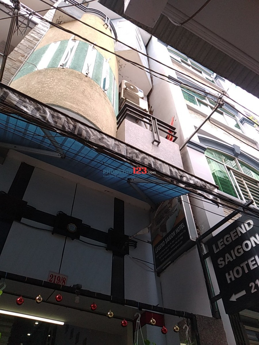Chính chủ cần sang gấp 1 Hotel 17 phòng ngay trung tâm Q.1, Đường Phạm Ngũ Lão