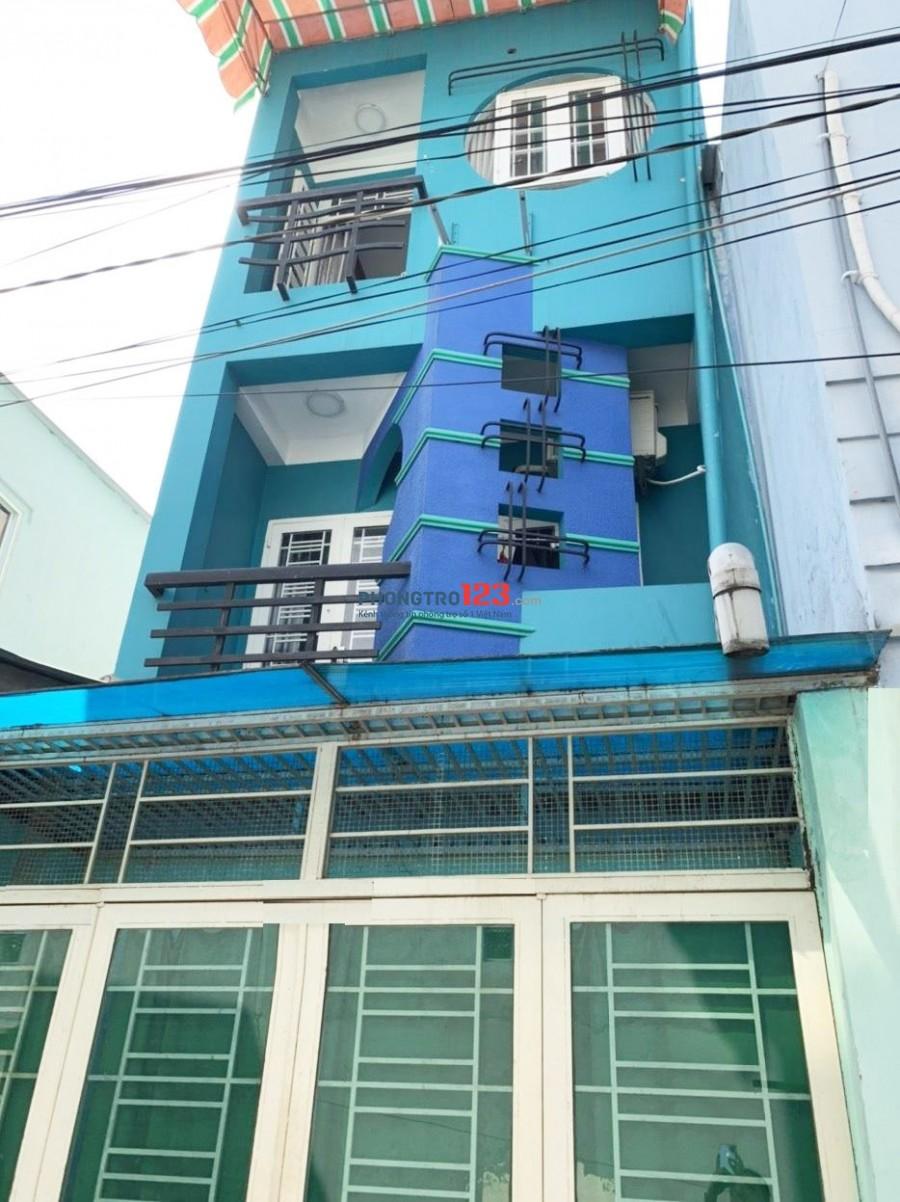 Nhà nguyên căn Bà Lài, P.8, Q.6 cho thuê. 2 lầu 3PN-3WC. Giá thuê 10 tr/th