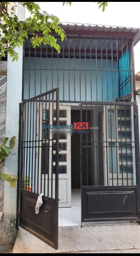 Nhà nguyên căn 2 mặt tiền hẻm tại Đường số 6, P.Bình Hưng Hòa B, Q.Bình Tân. Giá 6.5tr/th