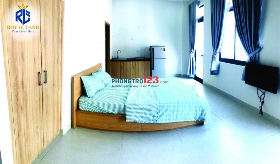 Phòng cao cấp full nội thất đường Thành Thái - Quận 10, đầy đủ tiện nghi chỉ xách vali vào ở