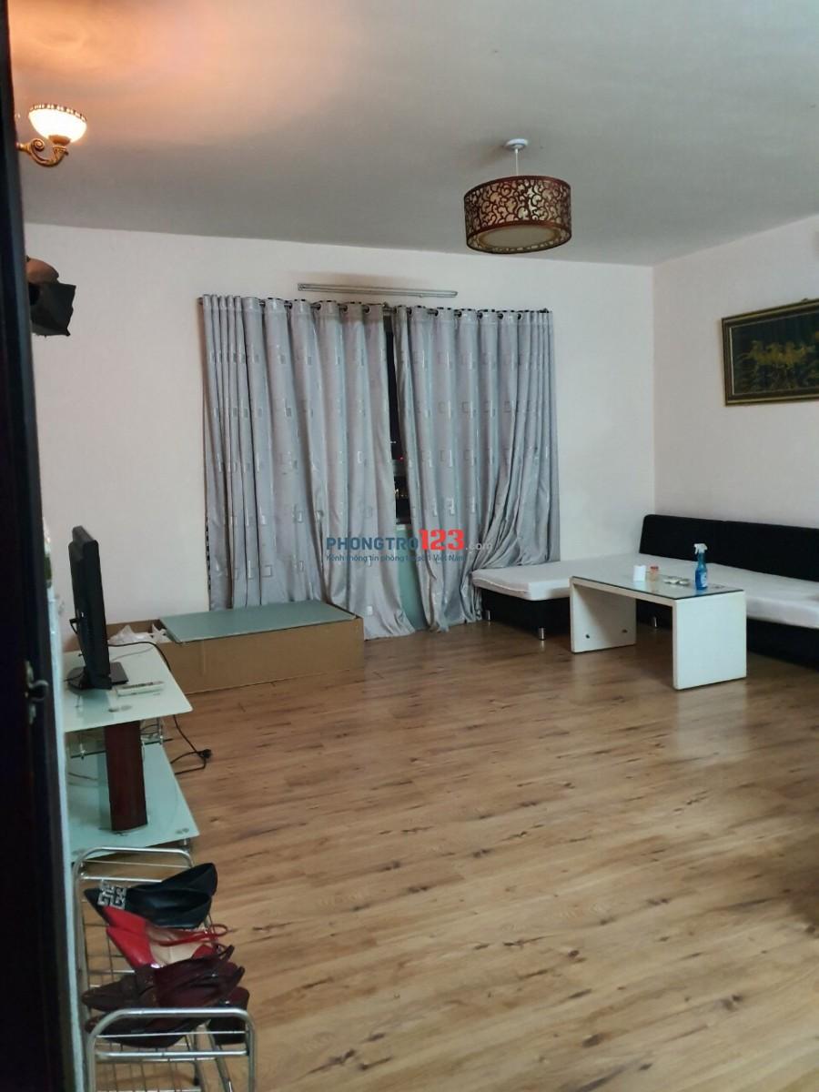 Cho thuê căn hộ Copac Square, quận 4, 2PN, 2WC 1 phòng khách, đầy đủ nội thất. Giá 12tr/tháng