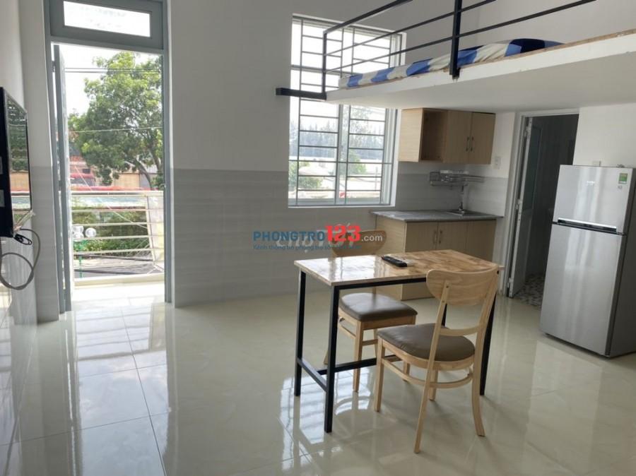 Cho thuê CHDV mini có gác full tiện nghi, mới xây ngay Hồng Hà sân bay, giá 3.5tr