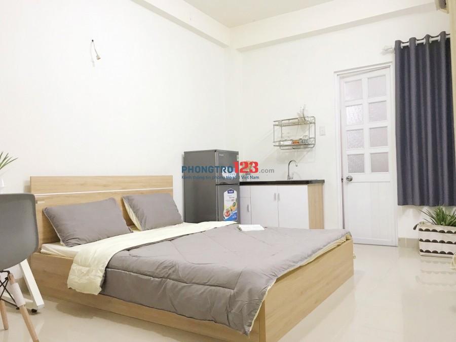Cho thuê phòng mới 100%, 30m2, đầy đủ nội thất cao cấp, giặt sấy và wife miễn phí. LH: 0903 62 1992