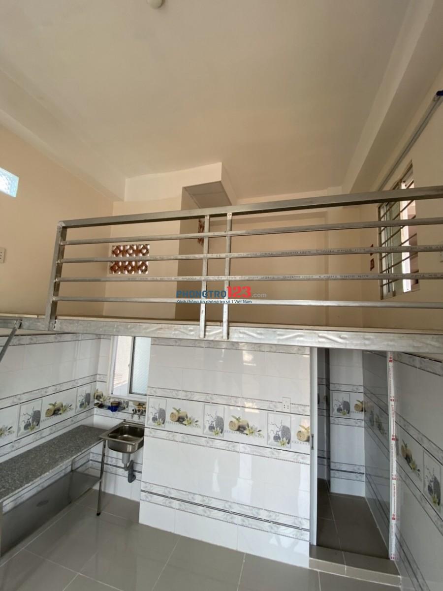 Phòng trọ cao cấp mới xây, có gác, có ban công thoáng, thang máy hiện đại
