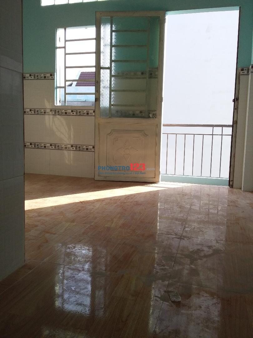 Cho thuê căn MT trệt 2 lầu 2PN, 2WC, 2 bancon đường số 8, P.Bình Hưng Hoà, Bình Tân