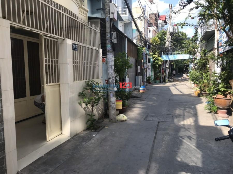Cho thuê nhà nguyên căn 1 lầu hẻm xe hơi tại KCN Tân Bình, Đường B3, Q.Tân Phú. Giá 8tr/th
