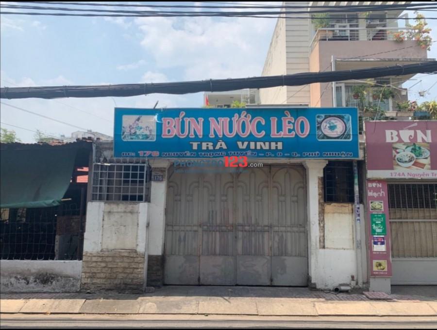 Chính chủ cho thuê mặt bằng 80m2 mặt tiền 176 Nguyễn Trọng Tuyển, P.8, Q.Phú Nhuận