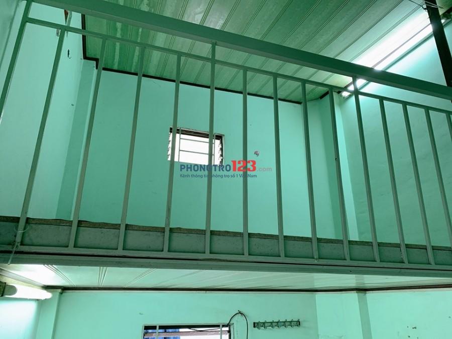 Cho thuê phòng trọ tầng trệt có gác lửng Phạm Văn Chí, Quận 6, 15m2, giá 2.5 triệu/tháng