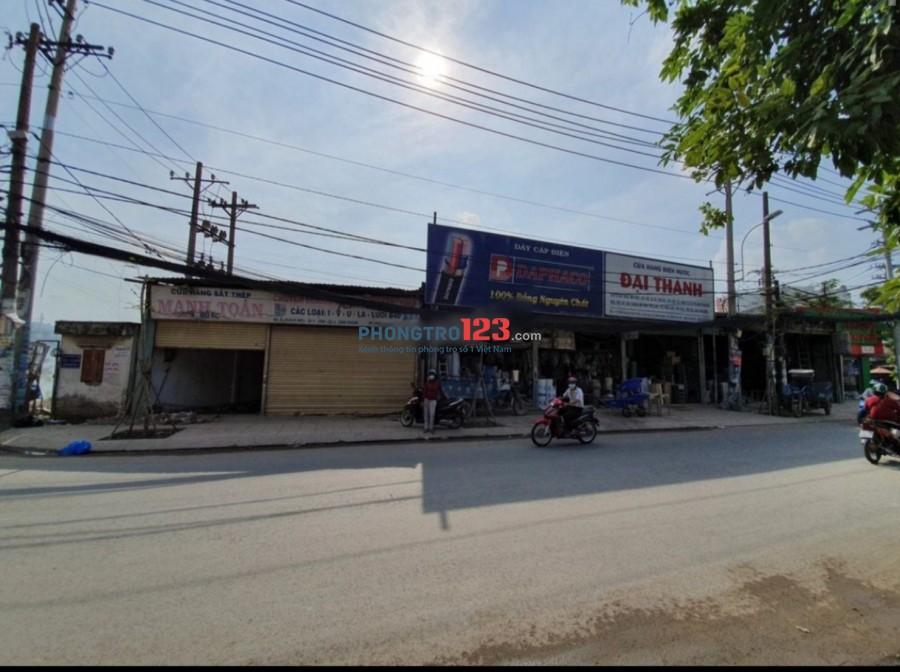 Cho thuê mặt bằng 2 căn đôi 8x18 mặt tiền Đường Quách Điêu, Vĩnh Lộc A, Bình Chánh