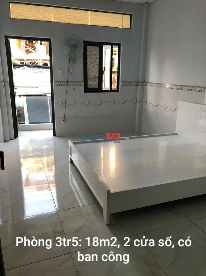 Cho thuê phòng quận 11 (cạnh đường 3 tháng 2 và đường Hồng Bàng) Bao điện nước