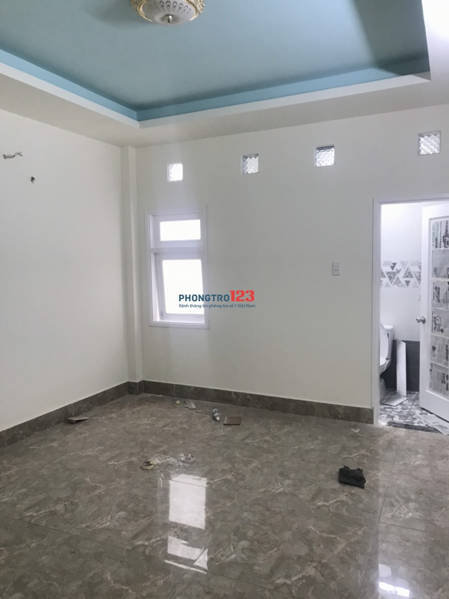 Cho thuê nhà nguyên căn mới xây 4x16 1 trệt 3 lầu tại Thạnh Xuân 21, Q.12. Giá 15tr/tháng