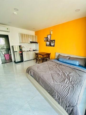 Cho thuê căn hộ dich vụ cao cấp quận Bình Thạnh, Mặt tiền đường Nguyễn Văn Đậu