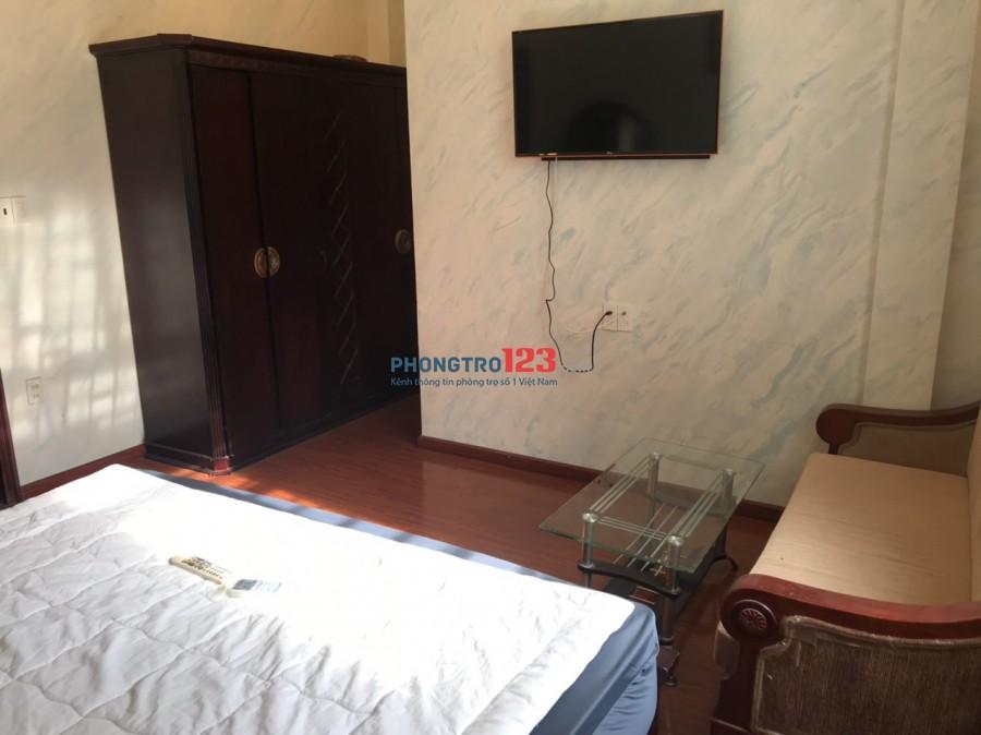 Cho thuê phòng Full nội thất cao cấp ngay trung tâm Đường Trần Quang Khải, P.Tân Định, Q.1