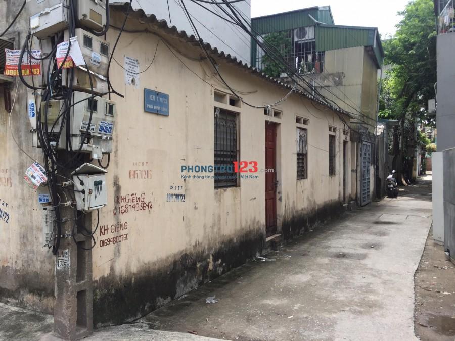 Phòng trọ 700k/tháng không chung chủ điện nước giá siêu rẻ phố Thúy Lĩnh, P.Lĩnh Nam