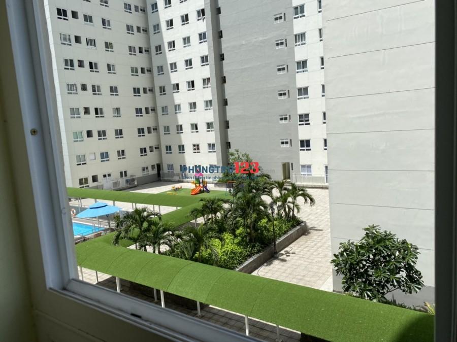 Chính chủ cho thuê chung cư Topaz Home Q.12 70m² 3PN, có nội thất. Giá 8.5tr/tháng