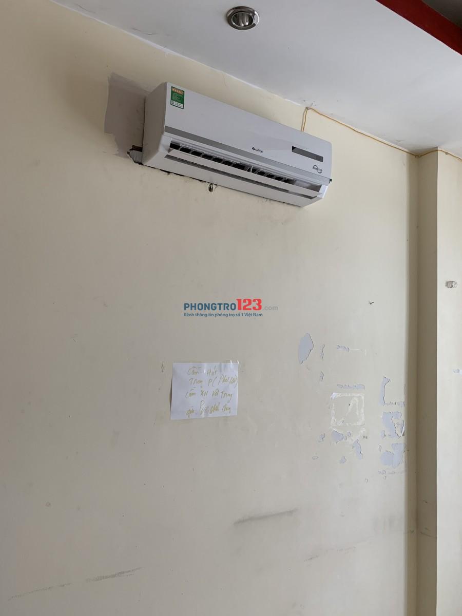 Phòng trọ Nguyễn Đình Chiểu, chợ Bàn Cờ 40m2 Full nội thất, máy lạnh, có chổ để xe, giờ giấc tự do, không chung chủ