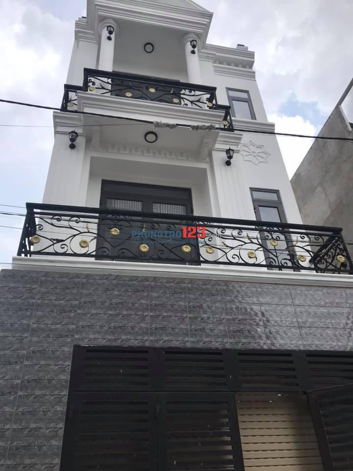 Cho thuê nhà hẻm xe hơi đường số 2, P.Trường Thọ, Quận Thủ Đức