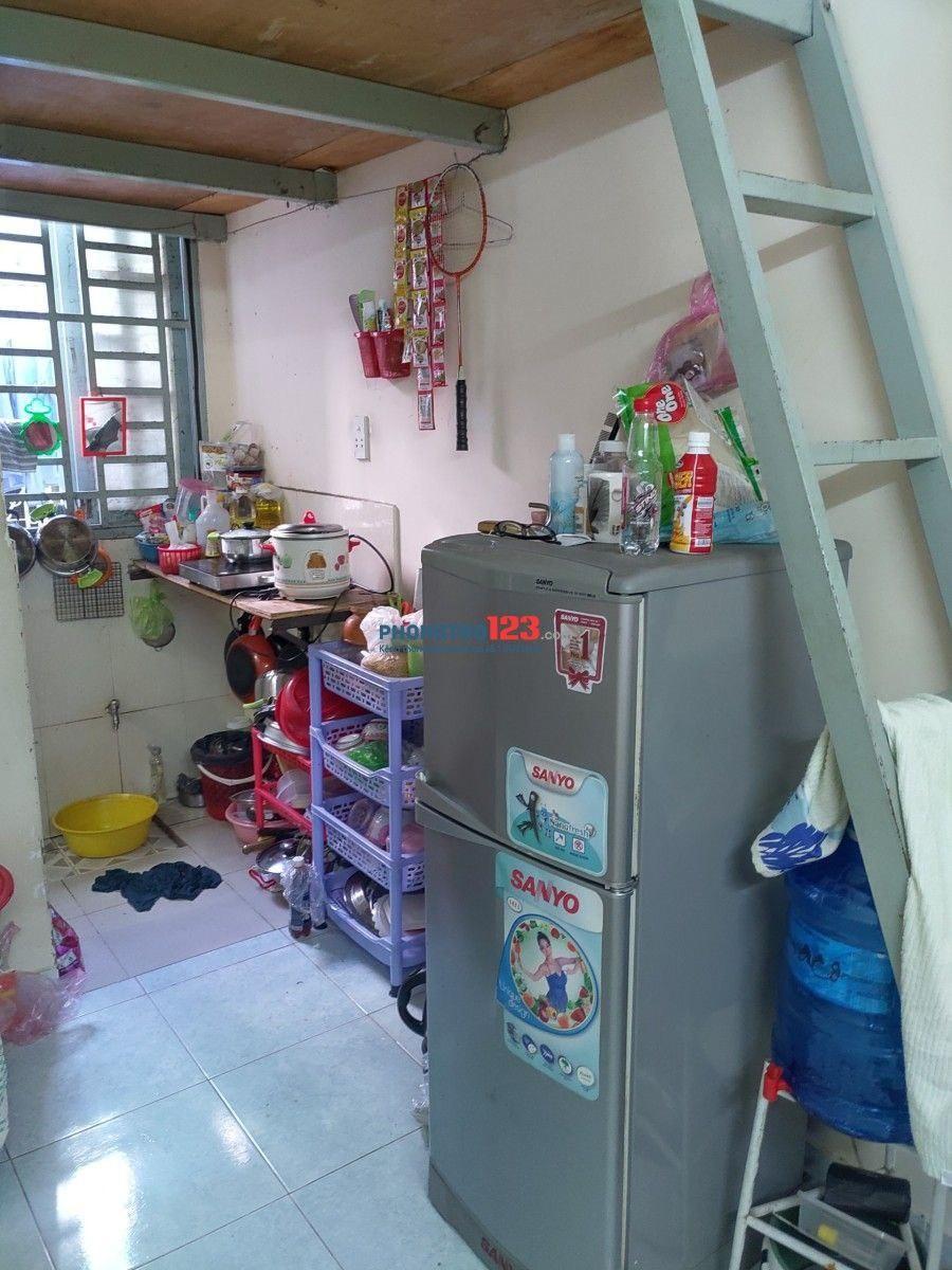 Tìm 1 nữ ở ghép có thể chuyển tới ở ngay đầu tuần sau phòng có gác, quận Tân Bình