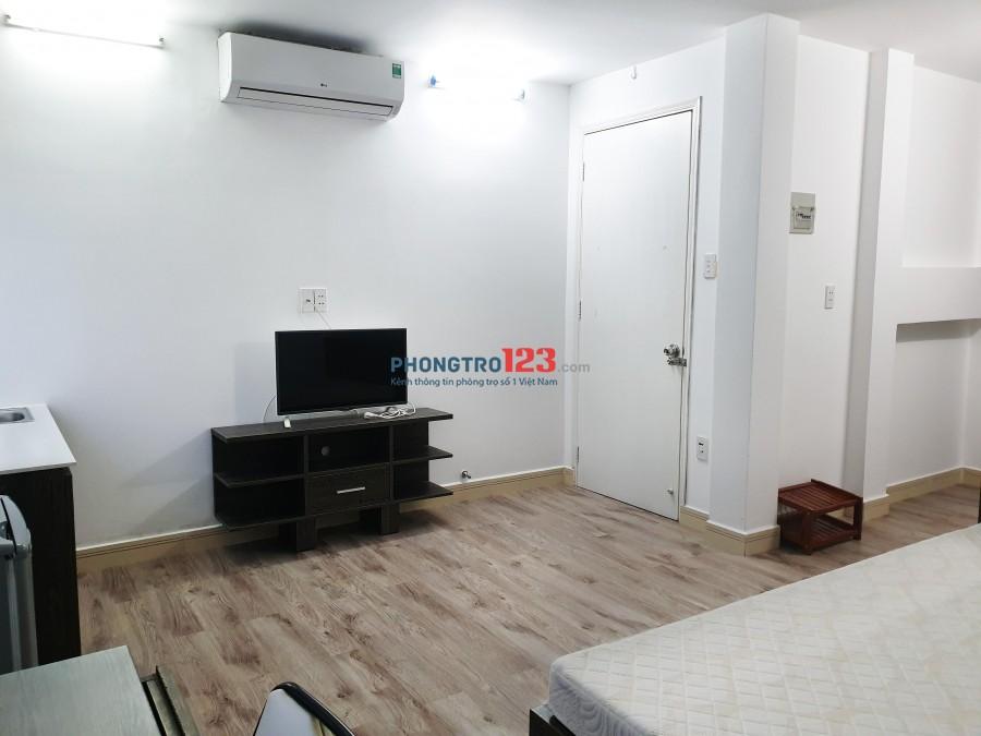 Cho thuê phòng chuẩn khách sạn, Full nội thất cao cấp Tại hẻm 345 Trần Hưng Đạo, P.Cầu Kho, Q.1
