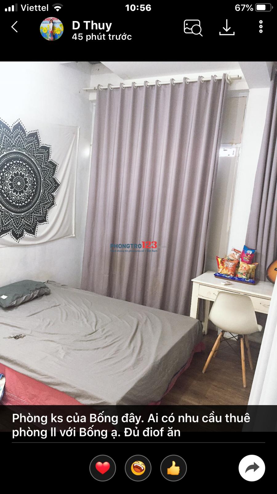 Cho thuê căn hộ khép kín. Tại Ngõ 33 Văn Cao, Ba Đình, Hà Nộii