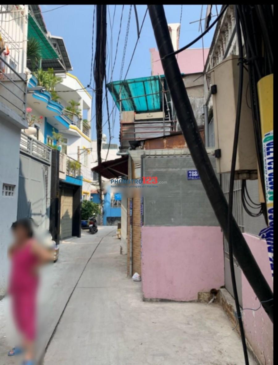 Cho thuê nhà nguyên căn 3,5x14 gác suốt hẻm 3,5m Vòng Xoay Phạm Văn Đồng - Nguyễn Kiệm
