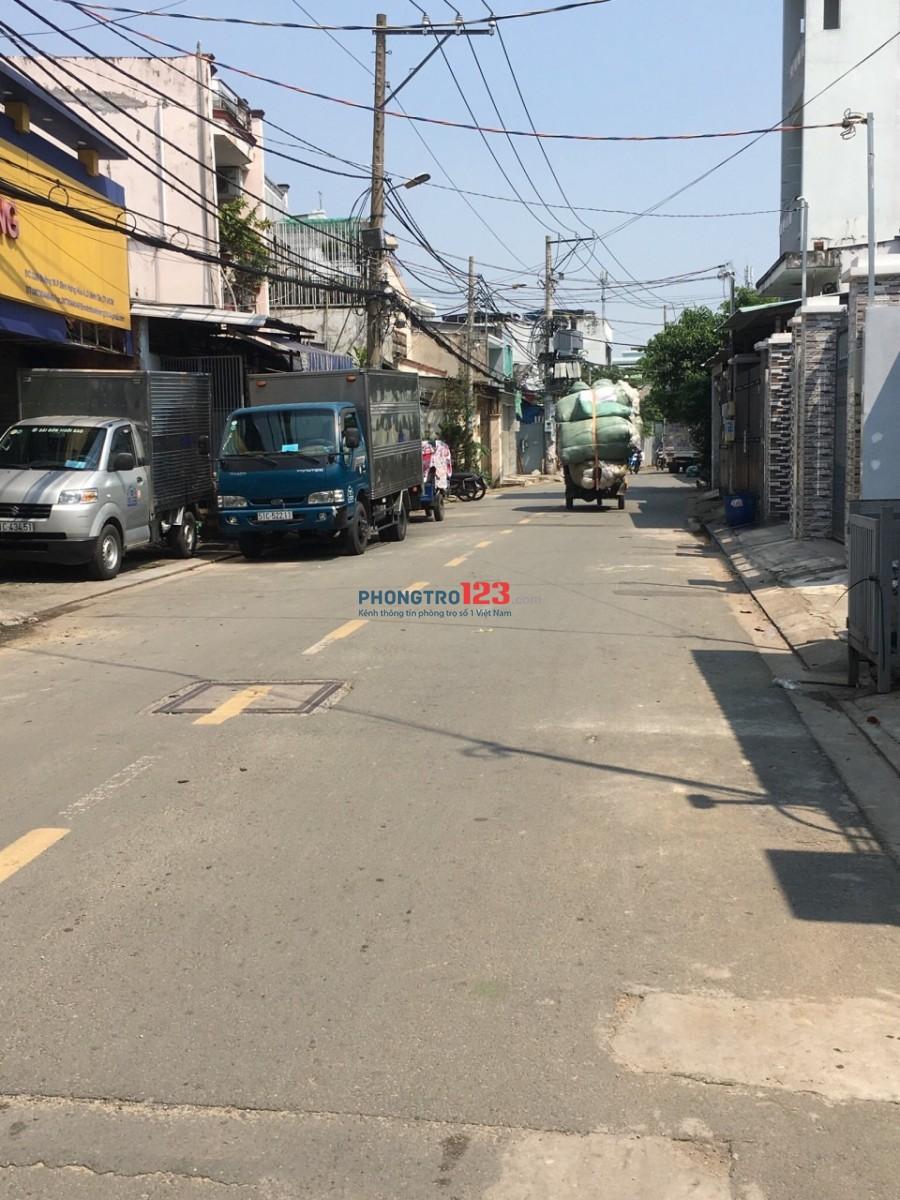 Nhà mặt tiền đường, phường Bình Hưng Hoà A, quận Bình Tân