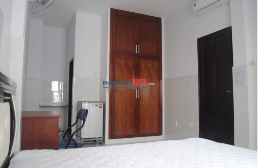 Cho thuê phòng đầy đủ nội thất cao cấp tại Thành Thái, P.14, Q.10. Giá từ 3.5tr/tháng