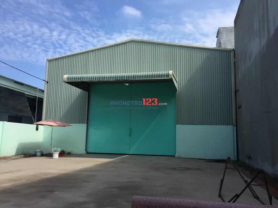 Nhà xưởng cho thuê kinh doanh nhiều sản phẩm