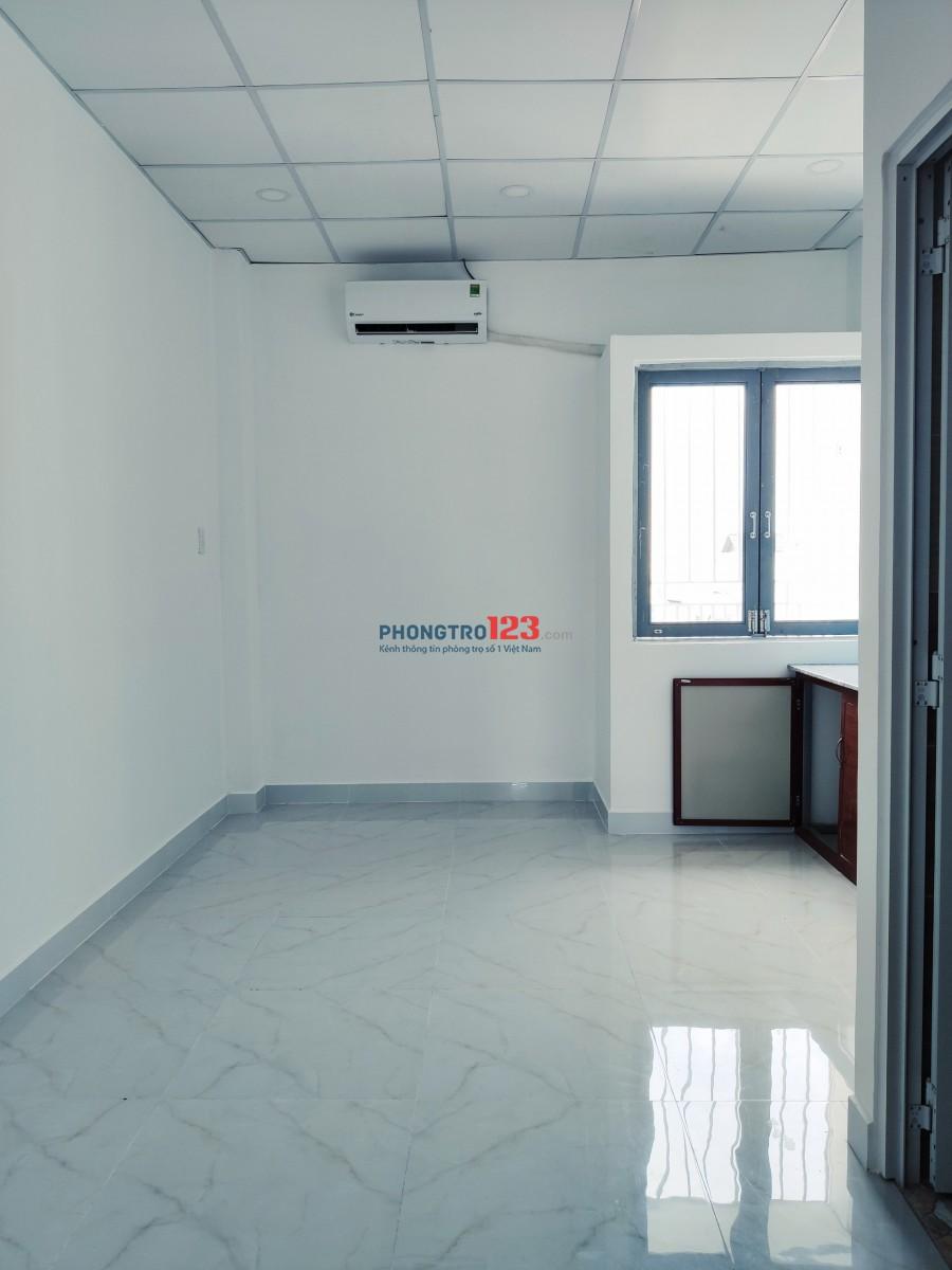 Phòng cho thuê mới xây Bùi Đình Túy, P.12, Bình Thạnh gần Hàng Xanh