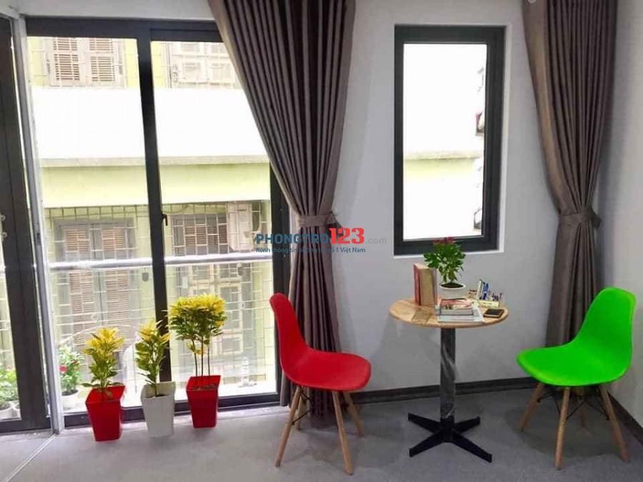 Cho thuê chung cư mini đầy đủ nội thất trong phòng