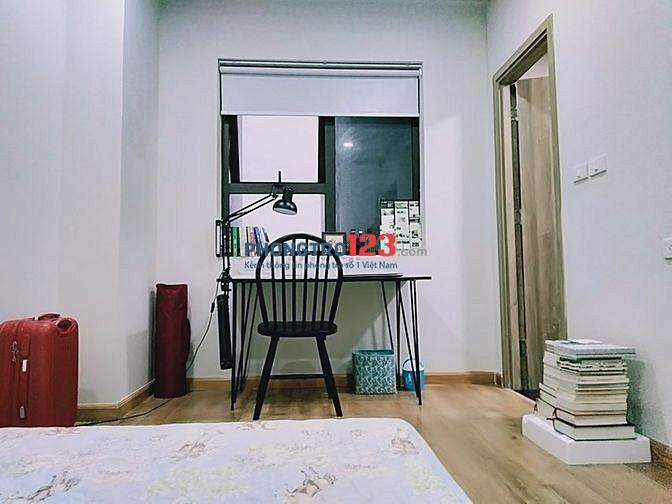 Cho nữ thuê 1 PHÒNG MASTER Trong căn hộ 58 m2 (2 phòng ngủ 2 vệ sinh) full đồ