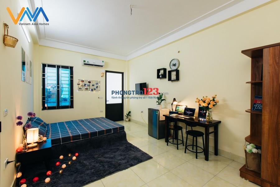 Căn Hộ Tiện Nghi VnaHomes Phú Đô Còn Trống Duy Nhất 1 Phòng Studio Tầng 2