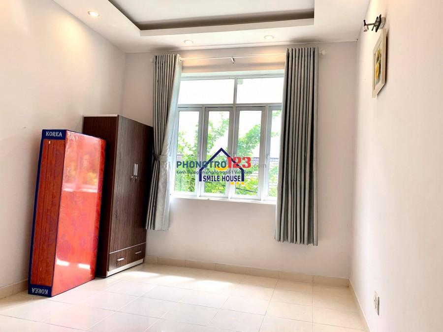 Phòng cao cấp ở biệt thự mini, có đủ nội thất tủ bếp, tủ lạnh, máy giặt ở 4-5người